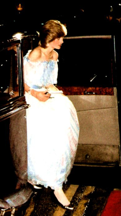 Diana - Princess of Wales pour le Film de Gandhi ,le 02 Décembre 1982