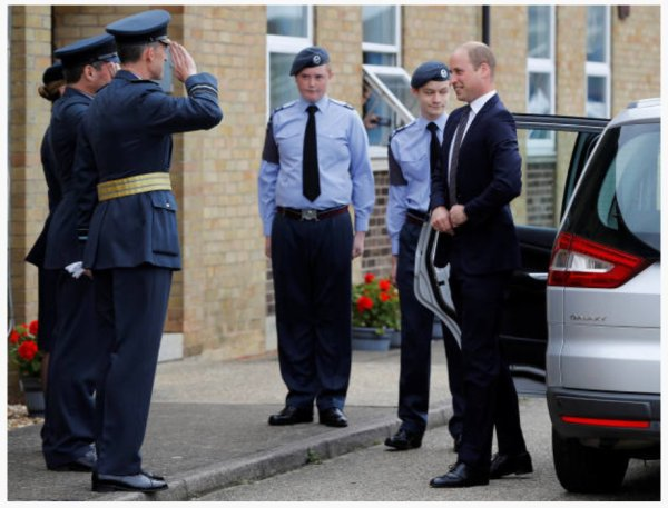 Prince William -The 60th Anniversary Of The Battle Of Britain Memorial Flight , le 11 juillet 2017