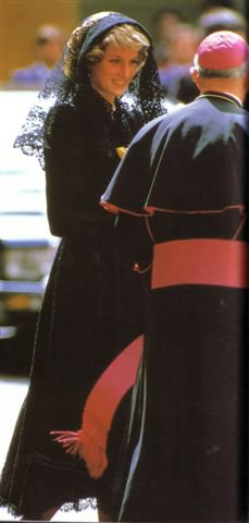 """Diana & Charles - The Italian Tour _ Suite """"  28 / 29  Avril 1985 """""""