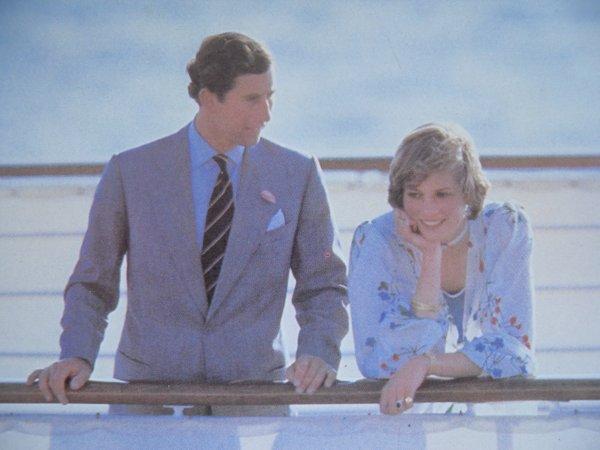 """Diana & Charles , Lune de Miel """" Britannia """" - Aout 1981 _ Suite"""