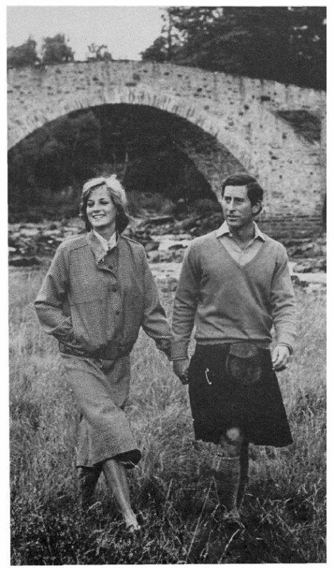 Diana & Charles  à Balmoral _ Suite