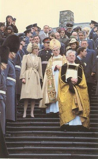 Wales Welcomes New Princess _  28  Octobre 1981