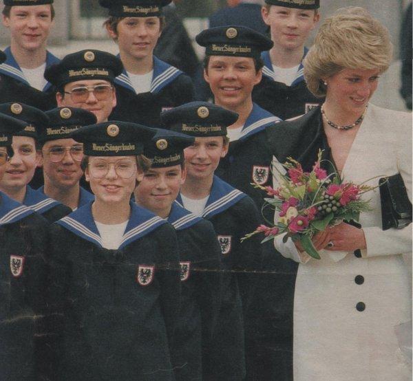 Diana & Charles - Austria Tour _ 16 Avril 1986