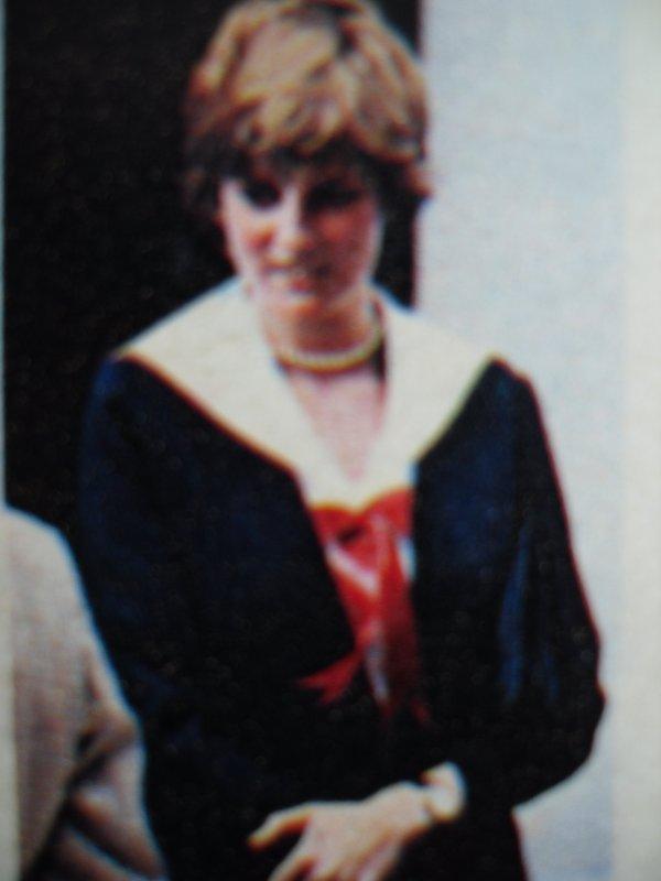 Lady Diana Spencer ,Cheltenham Police HQ - 27 Mars 1981