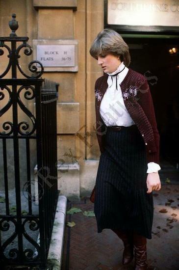 Lady Diana Spencer - 12 Novembre 1980
