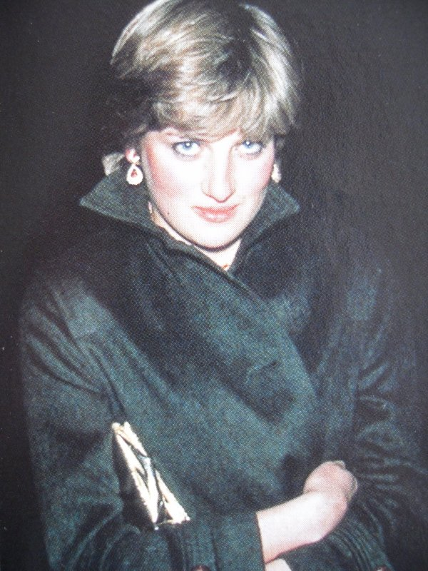Lady Diana Spencer , Princess Margaret's 50th birthday party à Buckingham Palace _ Suite
