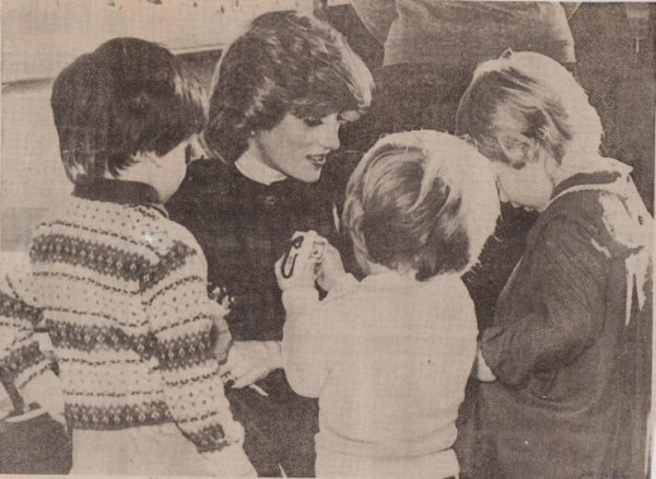 Lewis Lane Playgroup - Cirencester, Gloucestershire , le 22 Novembre 1982