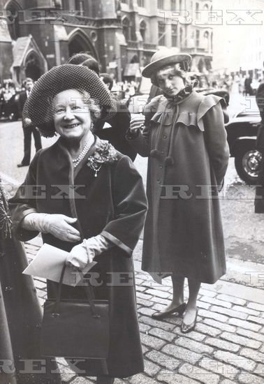 Royal College of Music Centenary Service Westminster, London - le 28 Février 1982