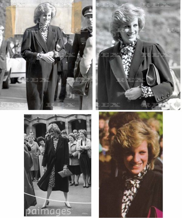 Princess Diana - National Children's Orchestra rehearsal, Wellington College, Berkshirele _ le 16 Avril 1984