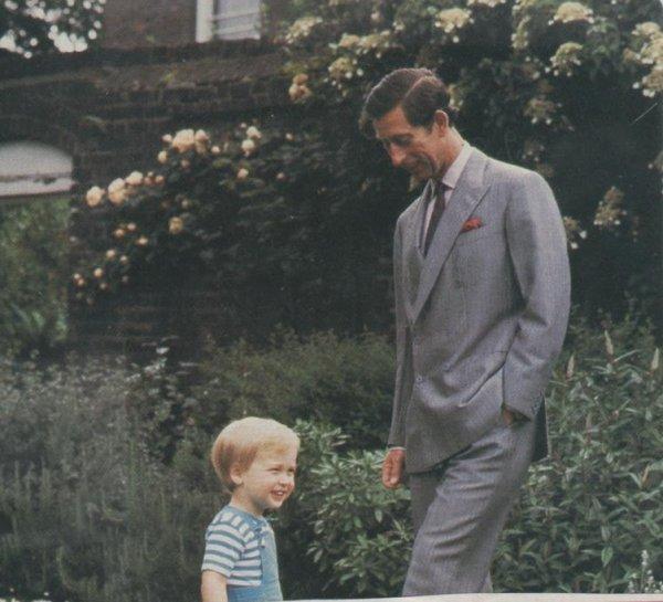 Prince William Deux Ans , le 12 Juin 1984 _ Suite