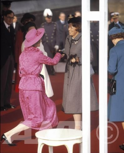 Welcoming Queen Beatrix & Prince Claus of the Netherlands - le 16 Novembre 1982 _ Suite