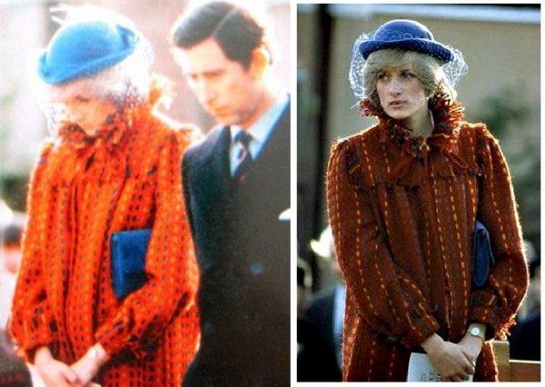 Diana & Charles - Gresford Disaster Memorial Wales, le 26 Novembre 1982