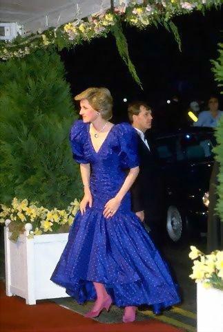 21 Avril 1986 , Queen Elizabeth's 60th Birthday