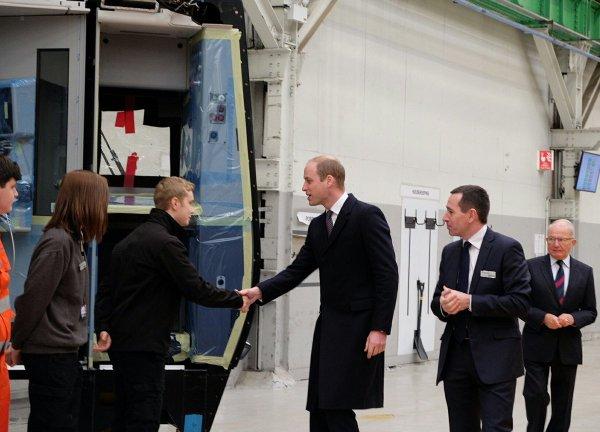 Prince William - Derby , le 30 Novembre 2016 _ Suite