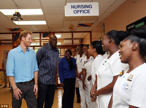 Prince Harry - The Caribbean Day 10 , le 30 Novembre 2016