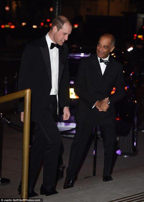 Prince William Tusk Trust Awards, le 30 Novembre 2016