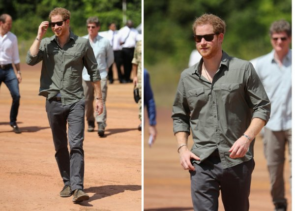 Prince Harry - The Caribbean Day  , Décembre 2016