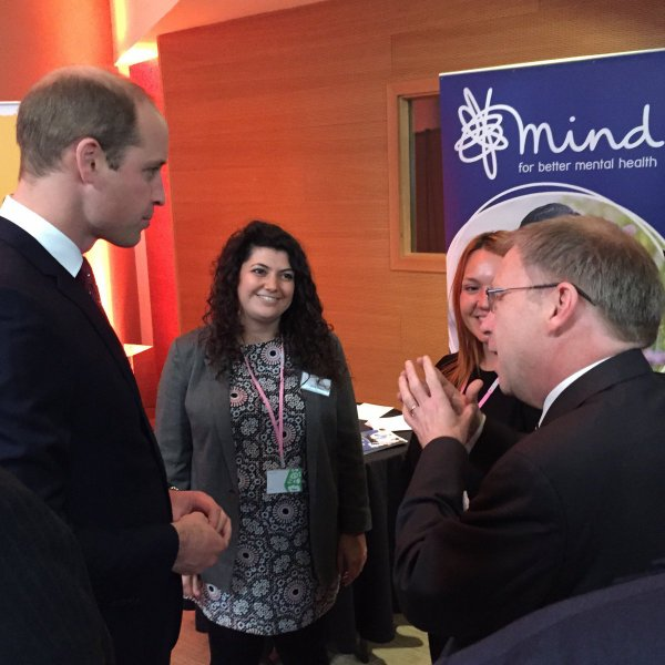 Prince William - Heads Together Campaign2016 , le 05 Décembre 2016