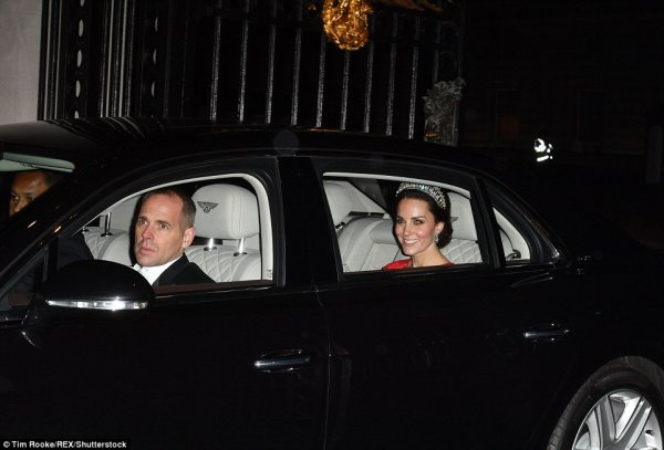 William & Catherine - Diplomatic Reception ,le 08 Décembre  2016