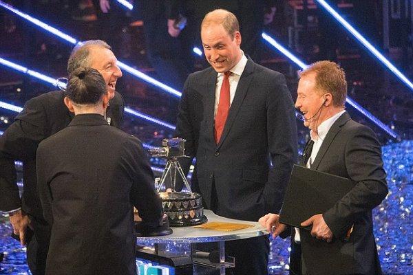 Prince William - BBC SPOTY tonight 2016 , le 18 Décembre 2016