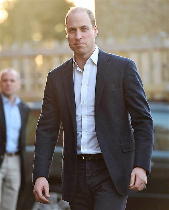 Prince William - Centrepoint , le 10 Janvier 2017