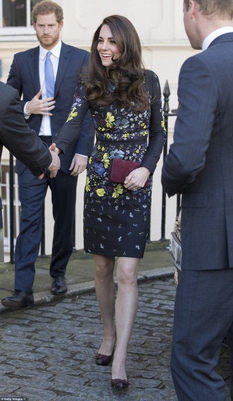 William & Catherine et Harry - Heads Together Ahead Of The 2017 Virgin Money London Marathon _ Suite
