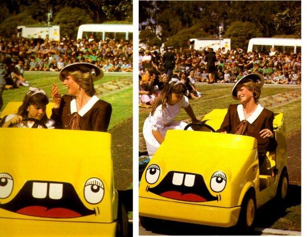 Diana & Charles - Australia Tour , le 31 Octobre 1985