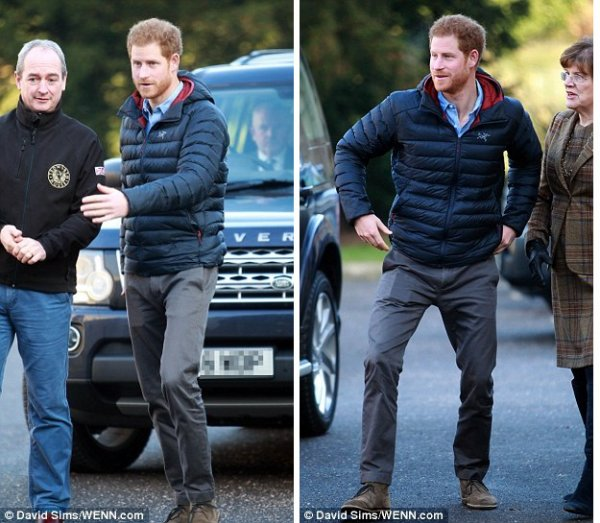 Prince Harry - Help For Heroes Recovery , le 23 Janvier 2017