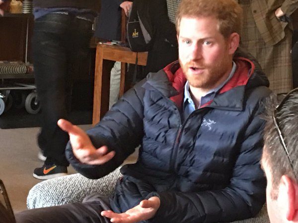 Prince Harry - Help For Heroes Recovery , le 23 Janvier 2017 _ Suite