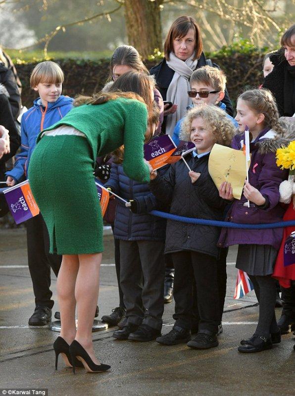 Duchess Catherine - East Anglia's Children's Hospices , le 24 Janvier 2017 _ Suite