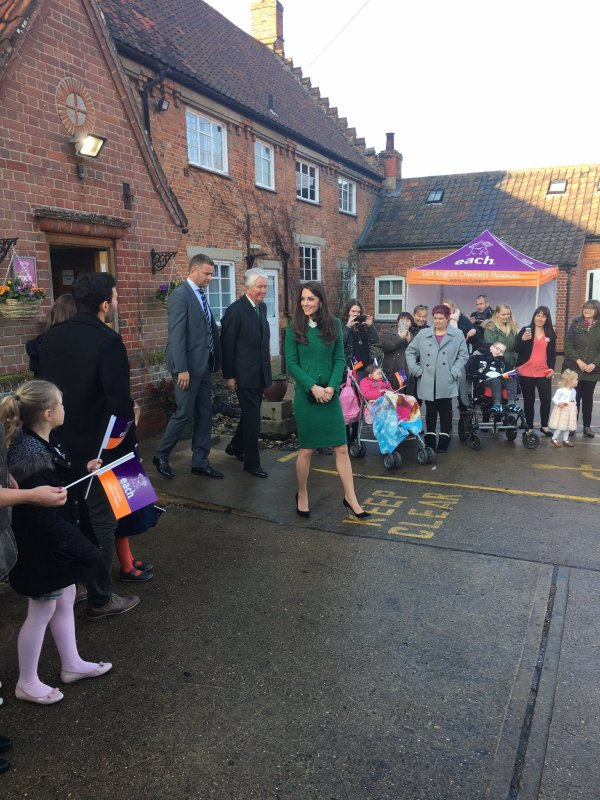 Duchess Catherine - East Anglia's Children's Hospices , le 24 Janvier 2017 _ Suite