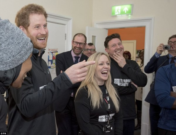 Prince Harry - The Running Charity 2017 , le 26 Janvier 2017 _ Suite