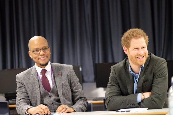 Prince Harry -  Notthingam Effect and Coach Core 2017 , le 1er février 2017