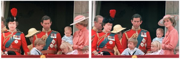 Trooping Of Colour , le 15 Juin 1985 _ Suite
