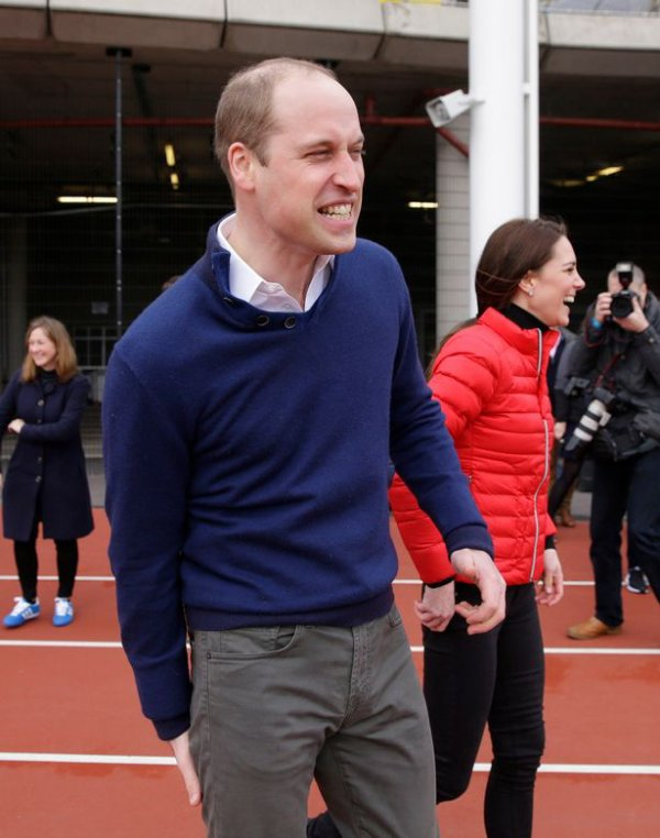 William & Catherine et Harry - Team Heads Together London Marathon Training Day , le 05 Février 2017 _ Suite