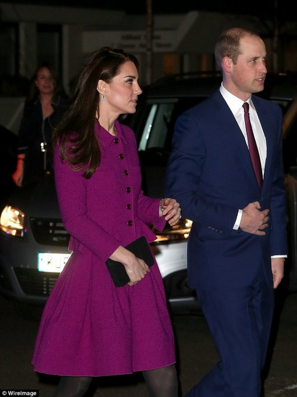 William & Catherine - Guild of Health Writers Conference , le 6 Février 2017