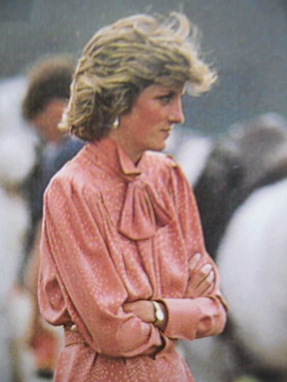 Diana au polo ,  le 20 juin 1985