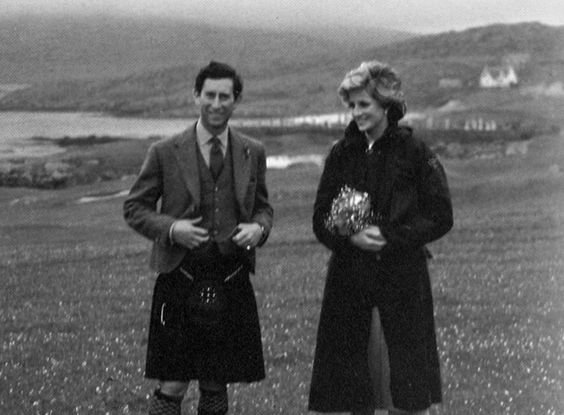 Diana & Charles - Scotland ,le 03 Juillet 1985