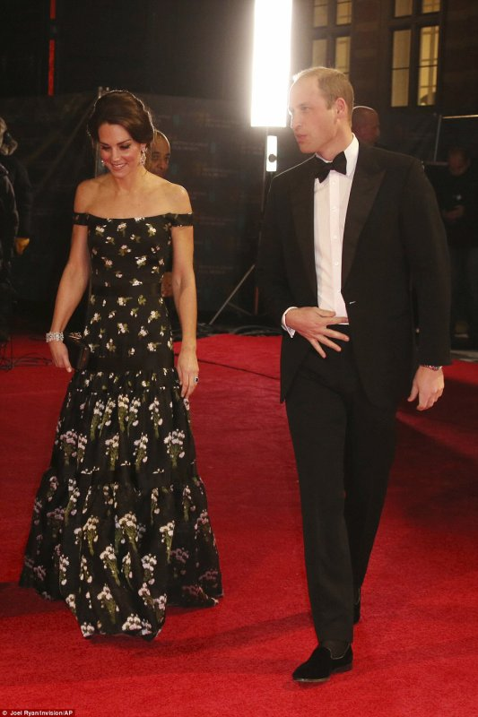 William & Catherine - EE British Academy Film Awards, le 12 février 2017