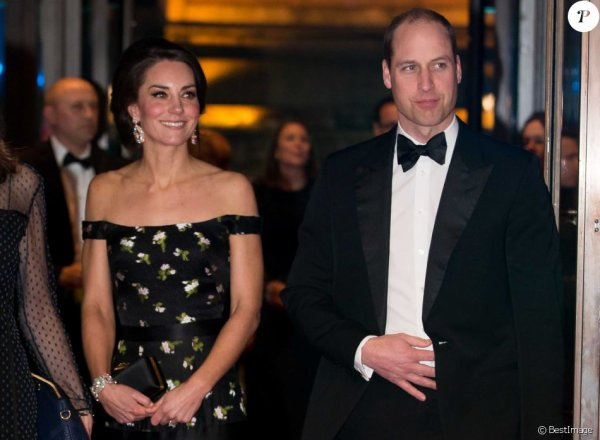 William & Catherine - EE British Academy Film Awards, le 12 février 2017 _ Suite