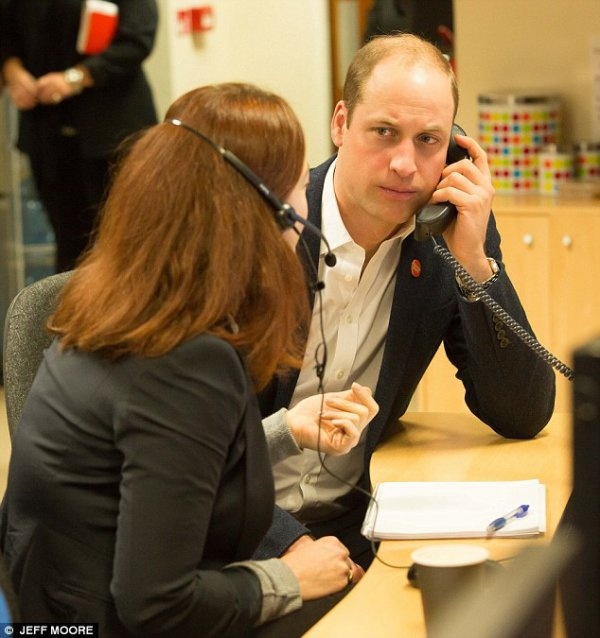 Prince William - Launch of Centrepoint Helpline , le 13 Février 2017 _ Suite