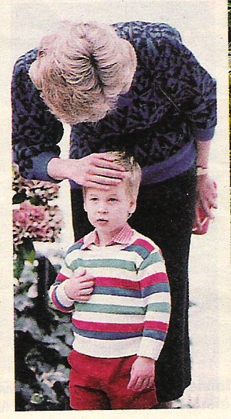 Prince William - Mrs. Mynor's Nursery school Notting Hill , le 24 septembre 1985 _ Suite