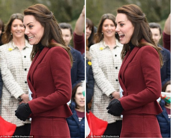 Duchess Catherine - Action for Children , le 22 Février 2017