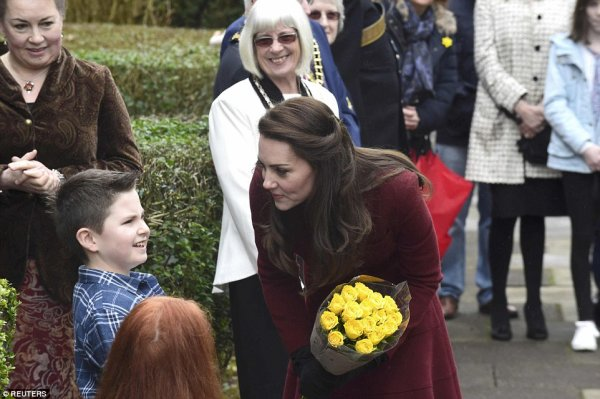 Duchess Catherine - Action for Children , le 22 Février 2017 _ Suite