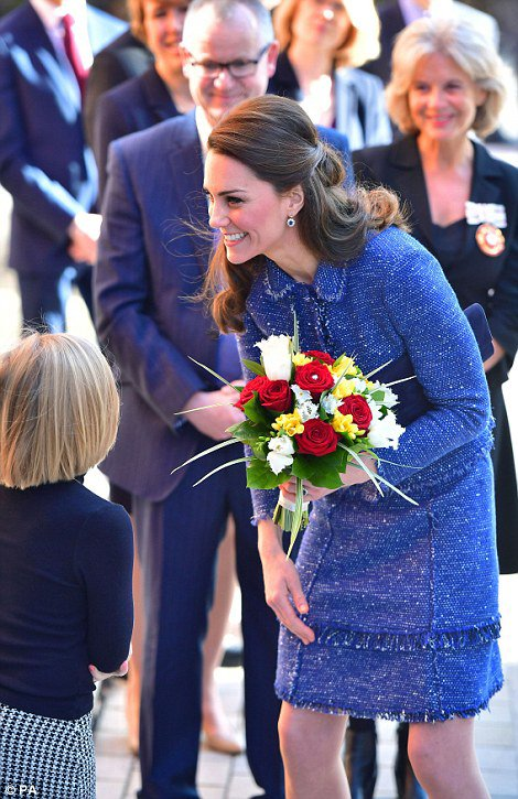 Duchess Catherine - Ronald McDonald House , le 28 Février 2017 _ Suite