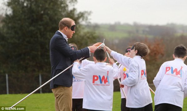 Prince William - the new Prince William Award  SkillForce  , le 1er Mars 2017 _ Suite