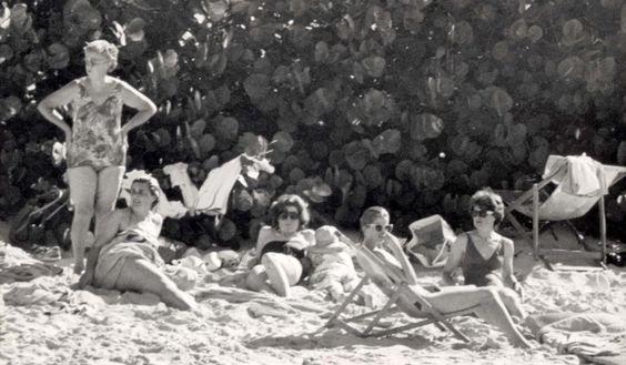 Diana et ses enfants - Necker Island  Janvier 1989