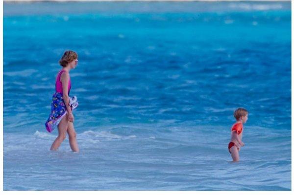 Diana et ses enfants - Necker Island  Janvier 1989 _ Suite