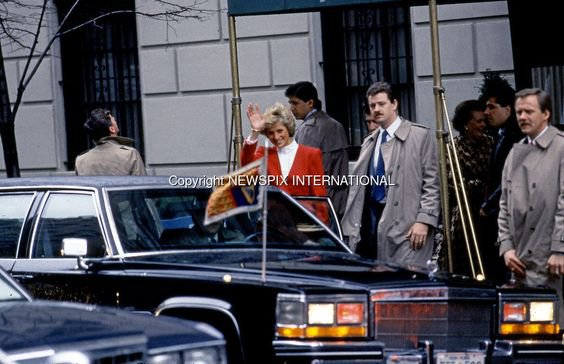 Princess Diana - New York , le 03 Février 1989