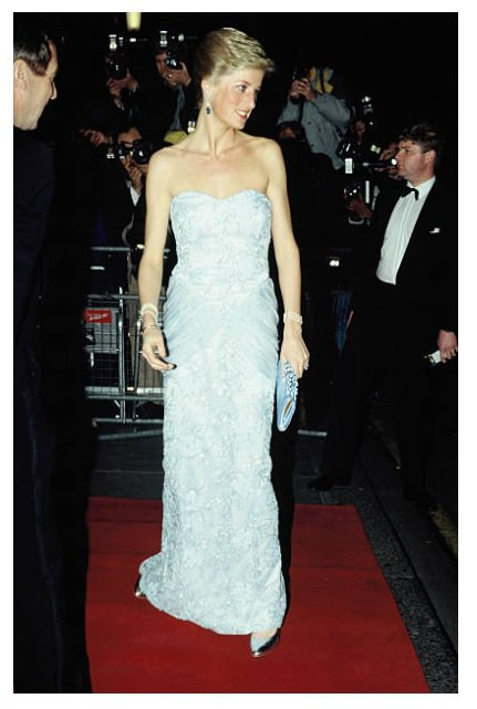 Princess Diana - Moulin Rouge  The Savoy , le 09 Mars 1989
